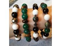 Stretchy Gemstone Bracelets
