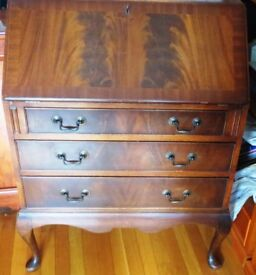 Teak coloured Bureau