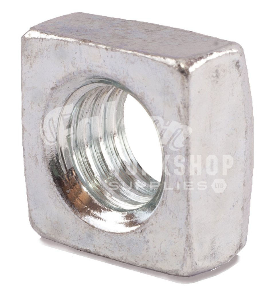 M5 M6 M8 M10 Zinc Square Roofing Thin Nuts Roof Nut Gutter