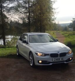 FOR SALE~ BMW 320d sport white 89,000 miles. Excellent condition 62 plate