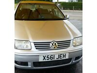 VOLKSWAGEN POLO 1.4 AUTOMATIC YEAR 2000 PETROL HATCHBACK 46000 MILES FOR SALE