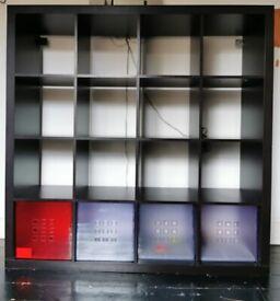 Kallax Black Shelves | 150 X 150 X 40