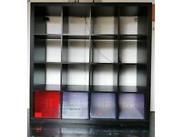 Kallax Black Shelves | 150 X 150 X 40