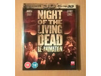 Night Of The Living Dead Re-animation (3D Blu-ray, 2012)
