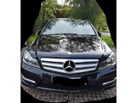 Mercedes-Benz 2012 C350 AMG Sport Blue efficency