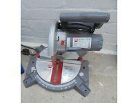 B&q Mitre chop saw 210mm 220/240v used