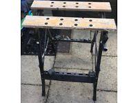 , folding work bench, good basic folding working bench