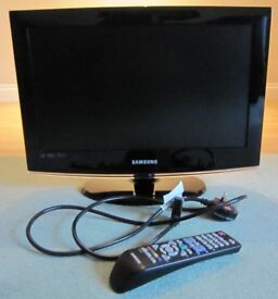 "SAMSUNG 19"" HD TELEVISION WITH SURROUND SOUND"