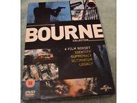 4 Film Bourne Boxsets DVD's .