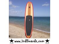 BRAND NEW STAND UP PADDLE BOARD (HARD BOARD) 10'6 RED RAIL WITH BAG, LEASH & PADDLE