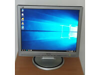 """Monitor 19"""" Inch Philips 190S5 LCD"""