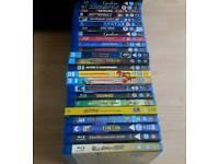 Blu-ray Movies Mixed Bundle