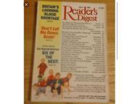 Readers Digest monthly journals/magazines