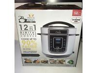 Hardly used king pressure cooker in very good condition
