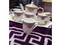 HERMES TEA COFFEE SET