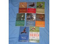 Paperback books - 8 no. bird watching related titles