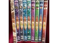 Dr Who DVDs x 9