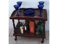 Drinks or plant trolley