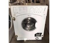 INTEGRATED HOTPOINT BHWD129 WASHER DRYER WITH WARRANTY & FREE DELIVERY