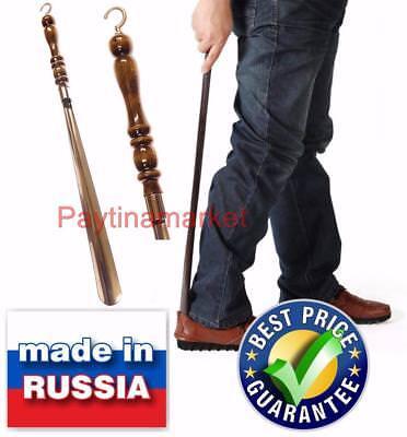 professional metal long 30 75cm shoehorn lifter