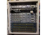 Cisco CCNA CCNP Security Voice Lab Router Switch etc