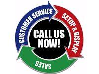 Customer Service/Sales Reps Wanted! £300 Per Week + ote