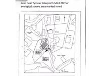 LAND FOR SALE ABERPORTH