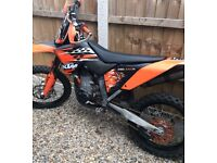 Ktm 530 exc-r 2008 road legal exc enduro