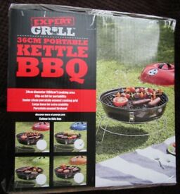 Brand New and Boxed 36cm Portable Kettle BBQ & Accessories £2-£9