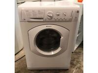 7kg Hotpoint WDL520 White Washer & Dryer (Fully Working & 4 Month Warranty)