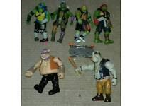 Ninja turtles figures set