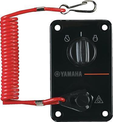 YAMAHA OUTBOARD OEM SINGLE ENGINE KEY SWITCH PANEL 704-82570-12-00 NEW
