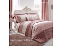 GATSBY BLUSH KINGSIZE DUVET SET