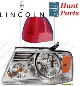 Lincoln Head Lamp Tail Headlight Headlamp light Fog Mirror Phare Avant Arrière Antibrouillard Lumière Brouillard Miroir