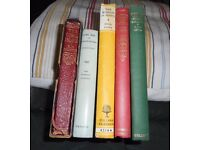 Selection of old books