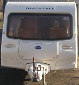 BAILEY DISCOVERY 4/5 BERTH 20005 ULTRA LIGHT WEIGHT WITH AWNING