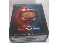 HALO RVBX TEN YEARS OF RED VS BLUE R1 BLUE-RAY BOXSET