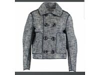 Navy woven Dsquared2 Jacket, brand new never worn