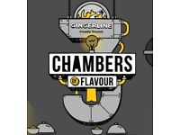 2 x chambers of flavour tickets on the 30th of Jan at 20:30