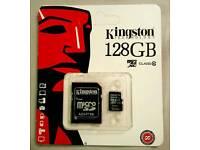 Kingston 128gb Micro SD Memory card