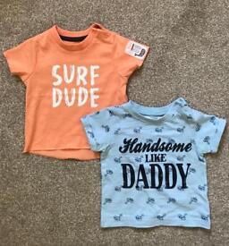 Boys clothes 0-6 months