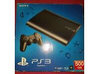 Ps3 console(500GB)