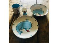 Whittard Snow Friend Plate Set