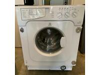 Indesit IWDE126 Nice Integrated Washer & Dryer with Local Free Delivery