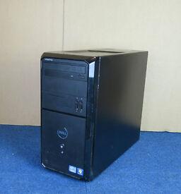 Dell Intel i3 3.3GHz, 8GB RAM, 500GB HDD, Tower Case, DVD-RW, Windows 7 Pro Fully Working