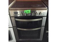 Viscount pc60cx electric ceramic top cooker-3 months guarantee!
