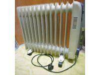 oil filled radiator heater electric 3000W 13 fin