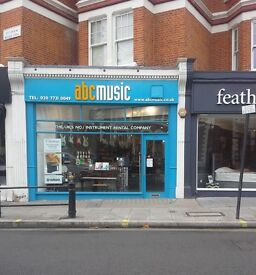 ATTENTION MUSICIANS!! ABC MUSIC REQUIRE SALES PERSON FOR LONDON BRANCH