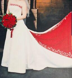 Wedding Dress Size 8/10 and Reception Dress Size 8/10
