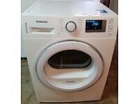 A++ Rated, 8kg Load SAMSUNG DV80F5E5HGW Heat Pump Condenser Dryer For Sale!!!